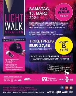 BIG Walk-Sonntag (31.10.2021)-Gruppe B-Start um 17:30 Uhr