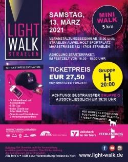 MINI Walk-Sonntag (31.10.2021)-Gruppe H-Start um 20:00 Uhr